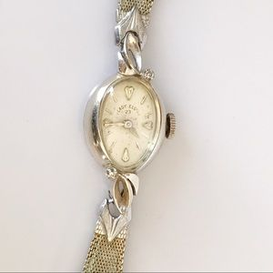 14k diamond watch